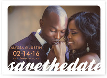 All the Way Save the Date Postcards