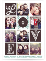 Love Stories Save the Date Postcards