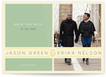 Subtle Chevron Save the Date Cards