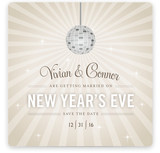 New Year Sparkle Save the Date Cards