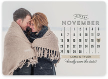 Chic Calendar Save the Date Cards