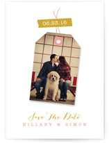Tagged Save the Date Cards