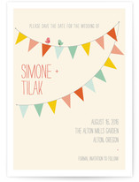 Barn Party Save the Date Cards