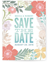 Tropical Love Save the Date Cards