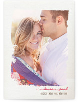 Painted Beauty Save the Date Cards