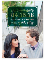 Framed Save the Date Cards