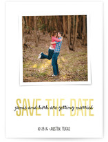 Written Keepsake Save the Date Cards