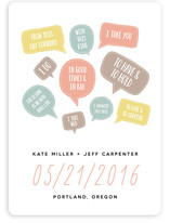 Pop-up Vows Save the Date Cards