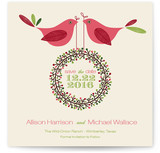 Two Little Birdies Told Me Save the Date Cards