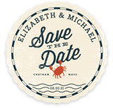 Salty Sea Save the Date Cards