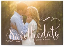 Modern Romance Save the Date Cards