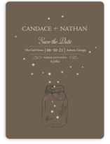 fireflies Save the Date Cards
