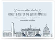 Big City - Washington DC Save the Date Cards