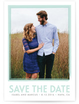 Timeless Love Save the Date Cards