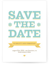 Summer Love Save the Date Cards