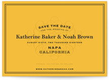 Label Save the Date Cards