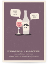Little Wine Charmers Save the Date Cards