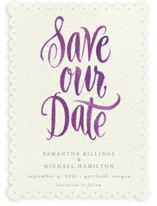 Painted Simplicity Save the Date Cards