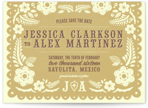 Papel Picado Save the Date Cards