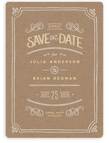 Hand Delivered Save the Date Cards