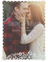 White Shadows Save the Date Cards