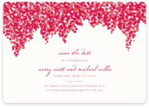 Bougainvillea Save the Date Cards