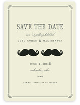 Stache + Stache Save the Date Cards