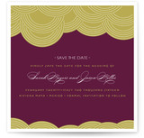 Pearls on a String Save the Date Cards