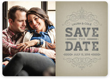 Family Traditions Save the Date Cards