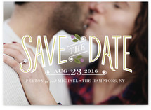 Boardwalk Save the Date Cards