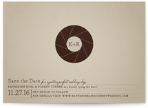 Aperture Save the Date Cards