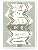 Arrows Save the Date Cards