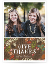 Give Thanks Foliage by Alethea and Ruth